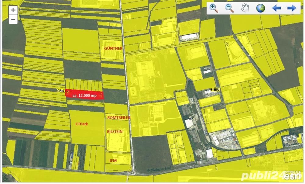Imobiliare Maxim - teren intravilan in zona industriala vest