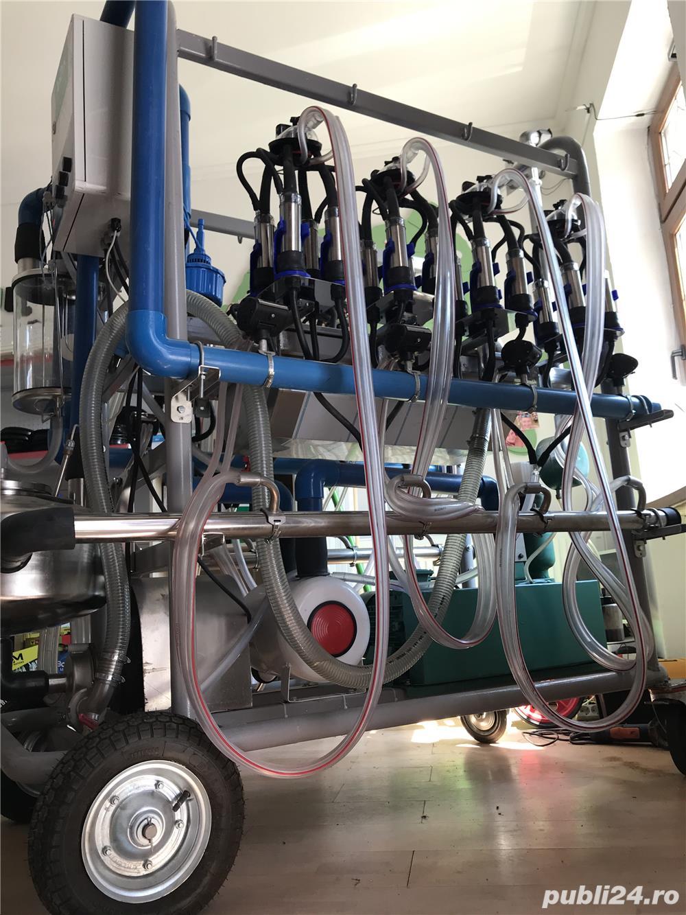 Masina de muls mobila Gardelina 2x4
