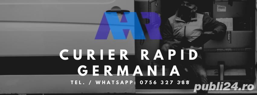 Curier Rapid Germania 1600-1800 euro NET - Cazare Asigurata & Contract German