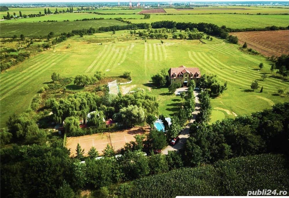 Teren Potigrafu, langa terenul de golf