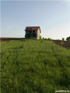 Vand Casa la rosu + teren in BALS(Comuna Baldovinesti) - imagine 1