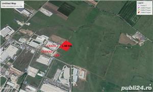Vand teren intravilan industrial in Zona Industiala Vest - imagine 2