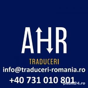 Traduceri autorizate in Urziceni  AHR Translations - imagine 3