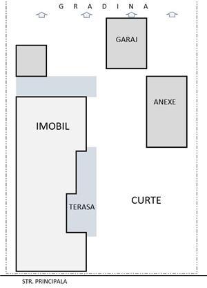 Vand casa in Tiur (Blaj) + teren 1440 mp - imagine 4