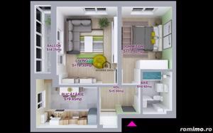 Apartament 2 camere CLASA PREMIUM  PIPERA Rond OMV - imagine 2