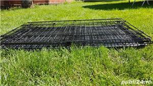Cușcă din metal pliabila pentru câini - imagine 1