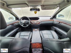 Plansa bord MERCEDES S320 W221 completa, cu airbag pasager+ centuri siguranta  - imagine 1