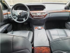Plansa bord MERCEDES S320 W221 completa, cu airbag pasager+ centuri siguranta  - imagine 2