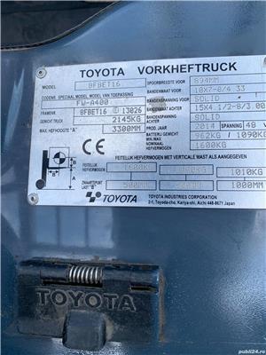 Toyota 8-FBEKT-16 - imagine 10