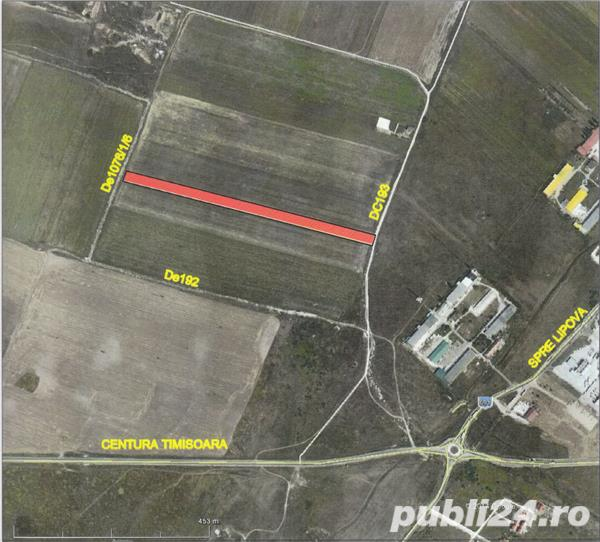 LOCATIE EXCELENTA-10% reducere;teren servicii/industrial,zona  Dumbravita