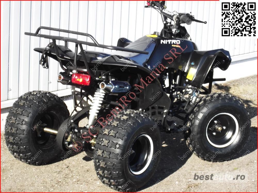Atv 125cc RENEGADE NITRO J8'' cutie semi-auto 3trepte