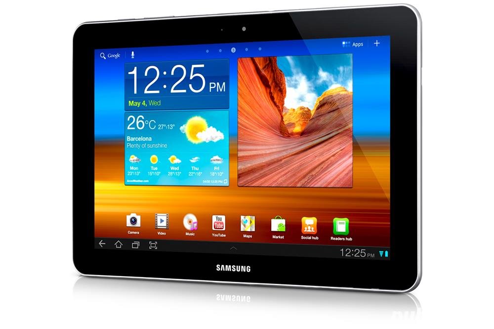 Tableta samsung GT-P7500