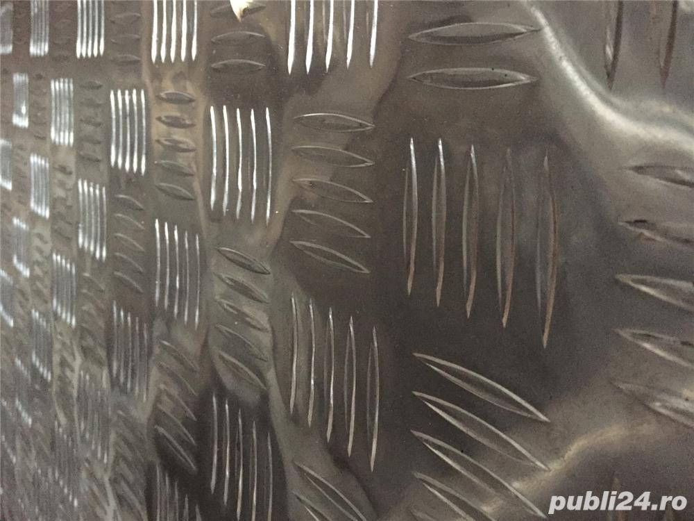 Tabla    aluminiu striata ,stucco grofrata