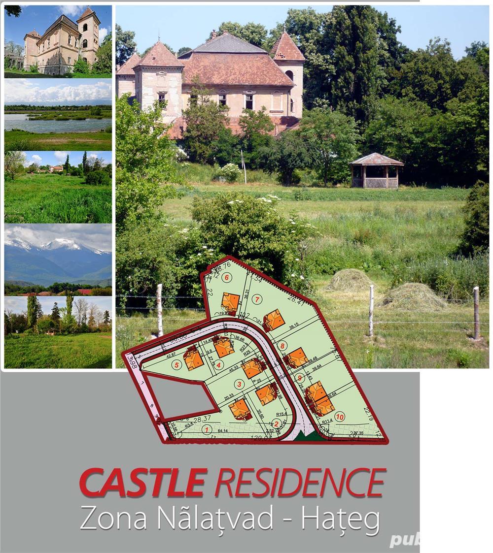 teren ieftin de vanzare langa castel si lac la Hateg