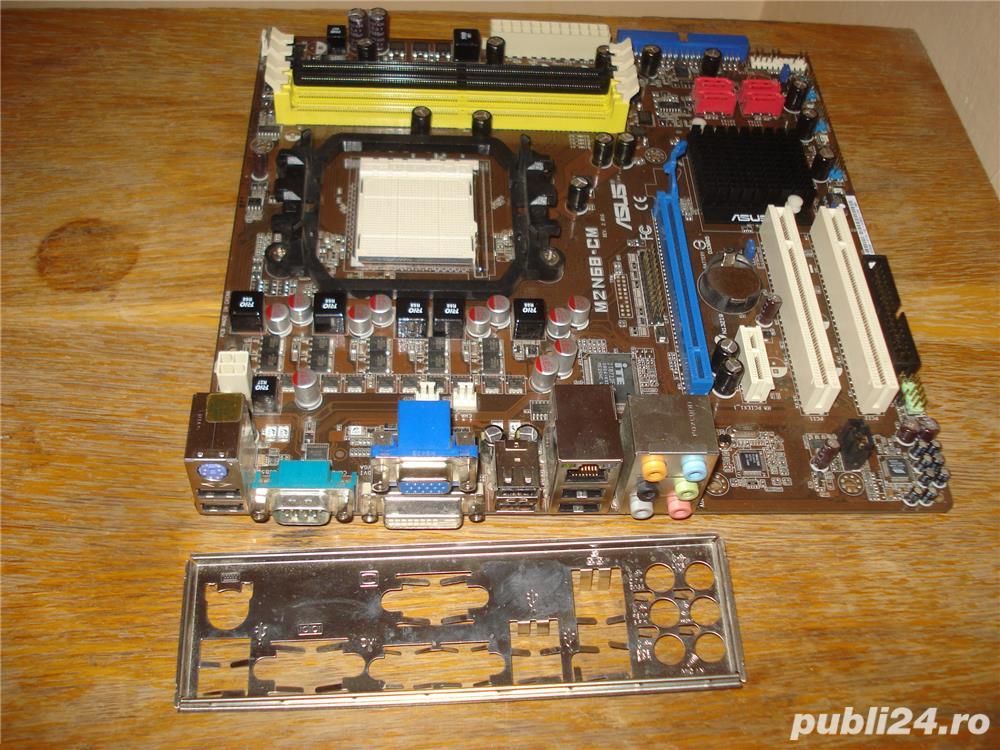 Placa de baza ASUS M2N68-CM AM2 / AM2+ DDR2 video on board VGA DVI