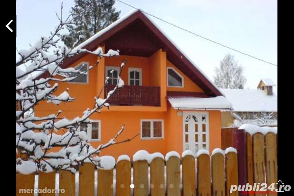 Casa vila la munte schimb cu auto sau apart+ diferenta