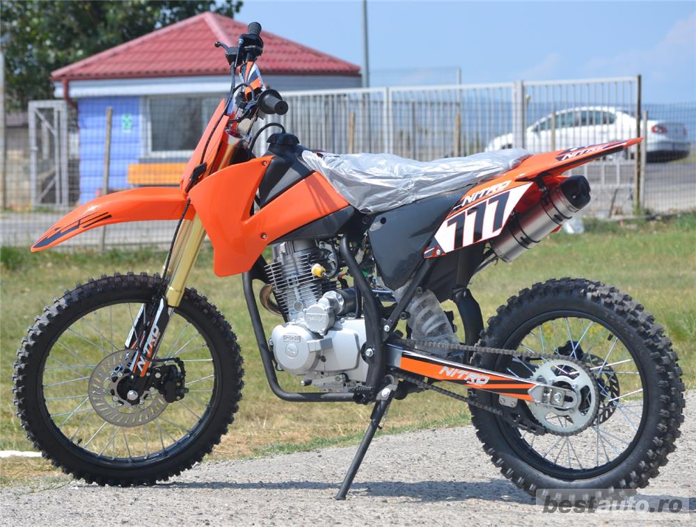 Atv Moto Hurricane Dirt bike +(Casca Cadou)