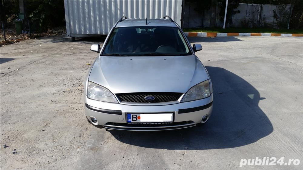 Ford Mondeo 2003 Mk3, 2000 tdci, diesel - motorina, break