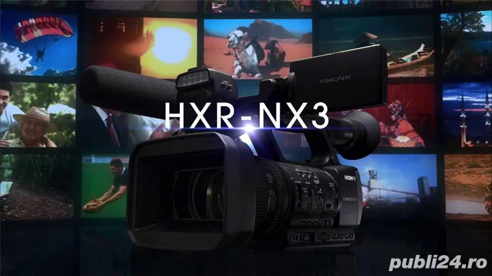 Sony HXR-NX3, camera video Full HD NxCam – Fvideo