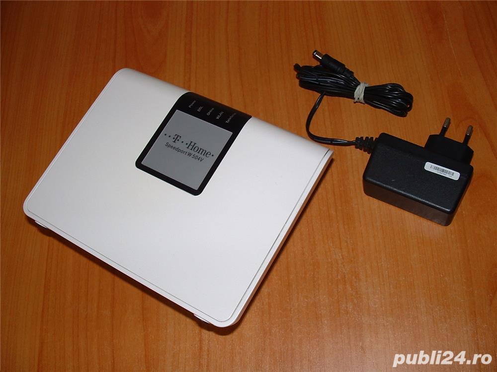 Telekom Speedport W 504V Wlan-router ADSL modem 300 MBit/s, port USB 2.0