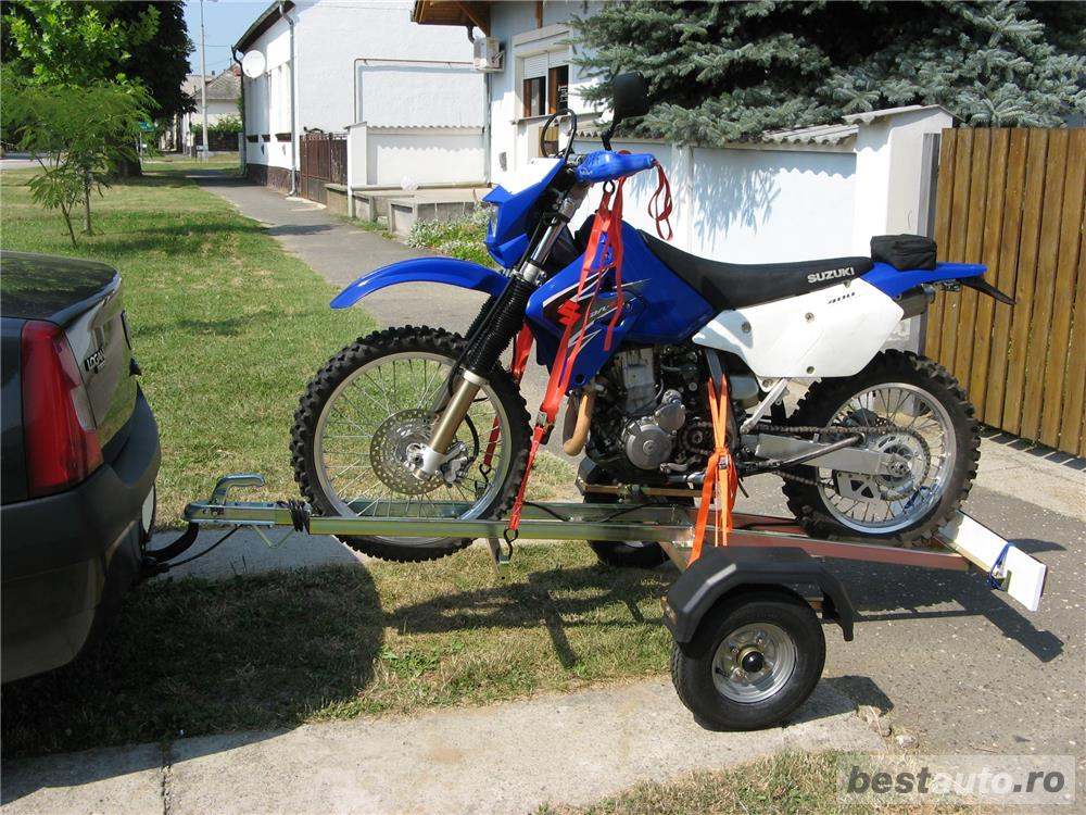 Remorca (platforma) transport moto, demontabila