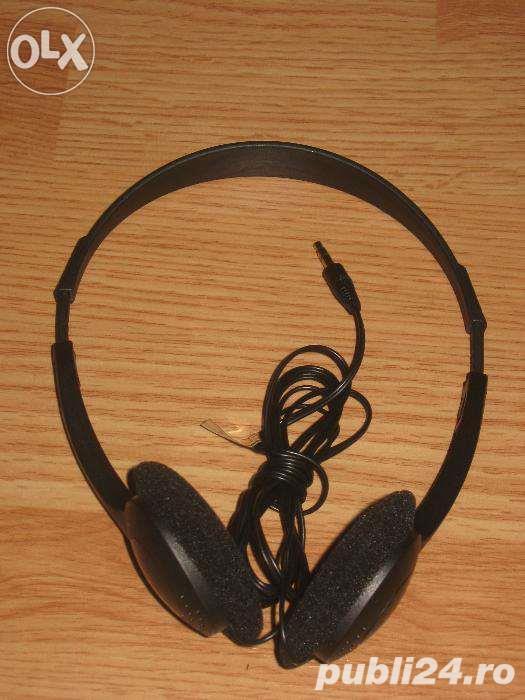 Casti audio Selecline jack 3,5mm