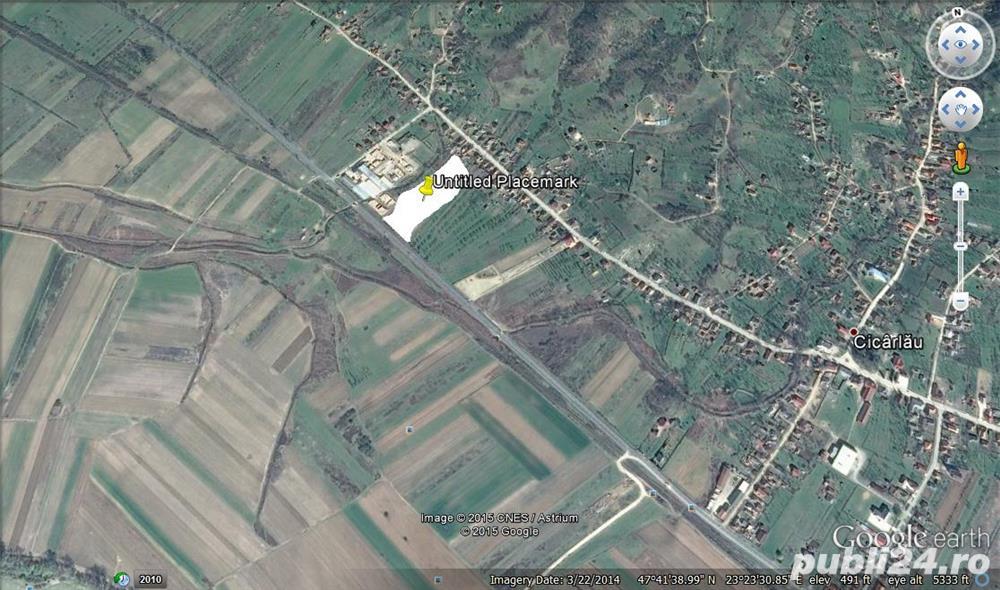 Vand teren 38 ari intravilan Cicarlau