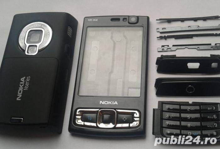 Vand carcasa originala pt nokia n95-8GB