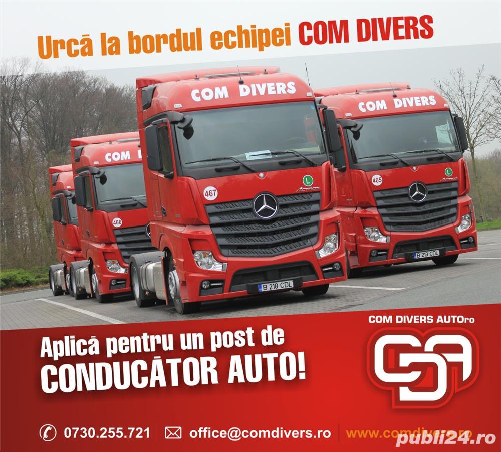 COM DIVERS AUTO RO angajeaza Sofer Autocamion
