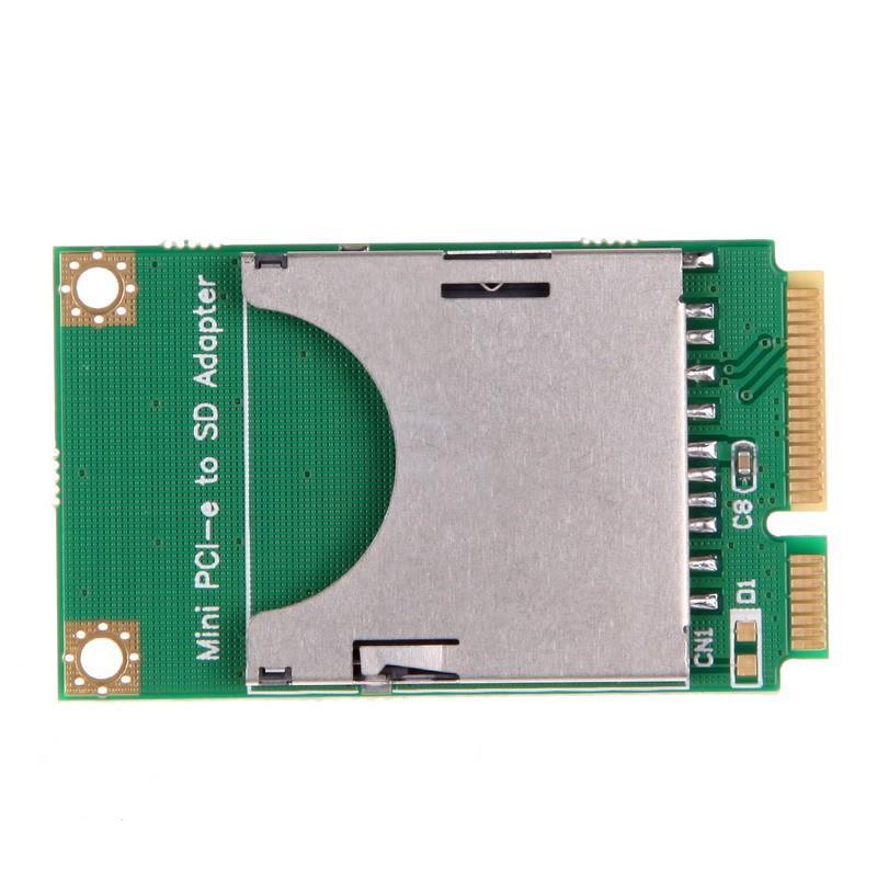 Adaptor Mini PCI-E la SD Card