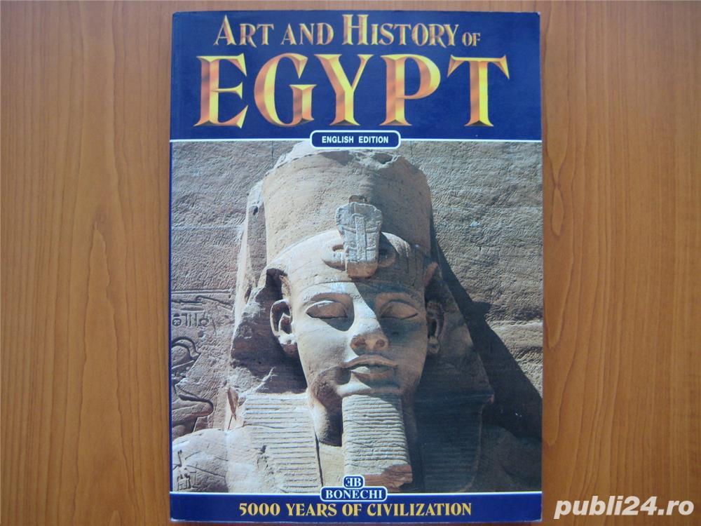 ART AND HISTORY OF EGYPT - Alberto Carpiceci