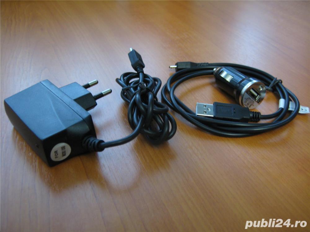 Incarcator de casa + incarcator masina ebook Sony PRS-T1/T2, GSM Sony Xperia