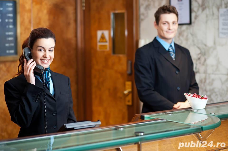 Receptioner / Receptionera Anglia