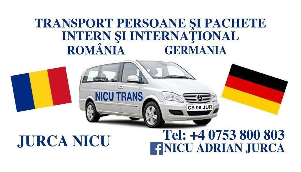ZILNIC !!! Germania-Austria -Romania de la adresa la adresa !!! 2 soferi
