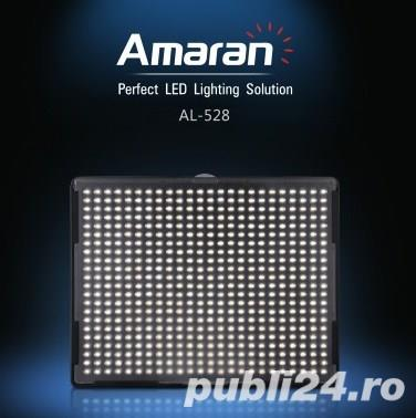 Aputure Amaran AL-528C Bicolor Led Panel CRI+95 – Lampa Bi-colora , produs nou