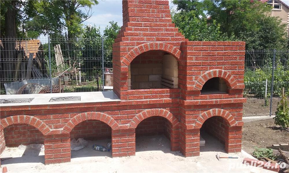 Gratare de gradina din caramida acoperisuri braila casa for Gratare de gradina