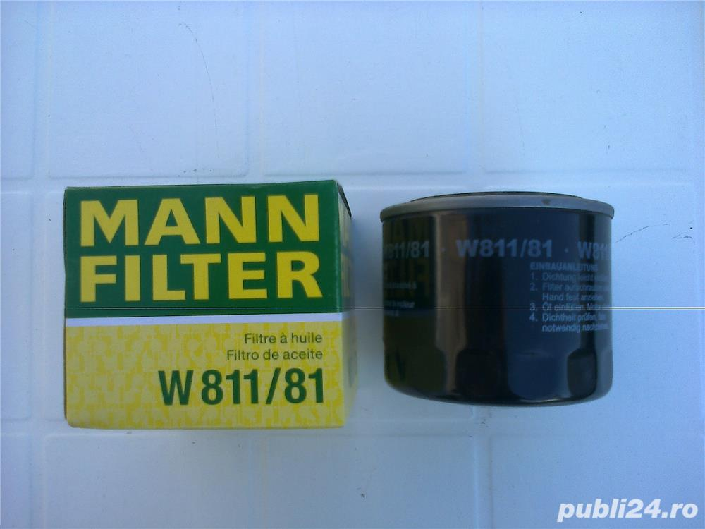 Filtru ulei DAIHATSU CUORE I (L55, L60) 0.5 (L55) ( 1980 - 1985 ) 0.5 (L55) kw (27 cp)-Mann W 811/81