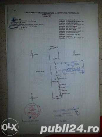 Oferta rate-Teren Iasi Sat Paun-BUCIUM (linga padure) 8000 m2 cu utilitati in zona, accept si auto