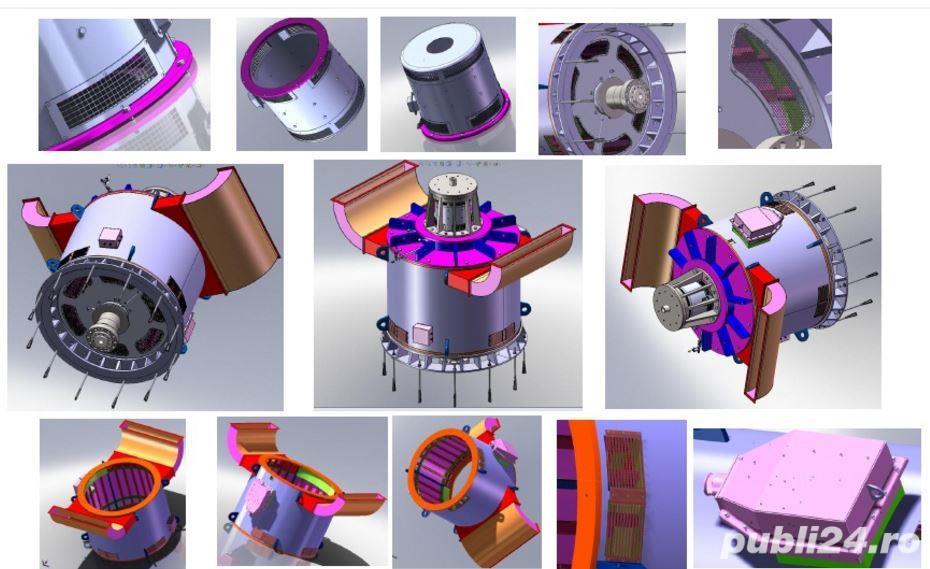 Inginer mecanic proiectant SolidWorks