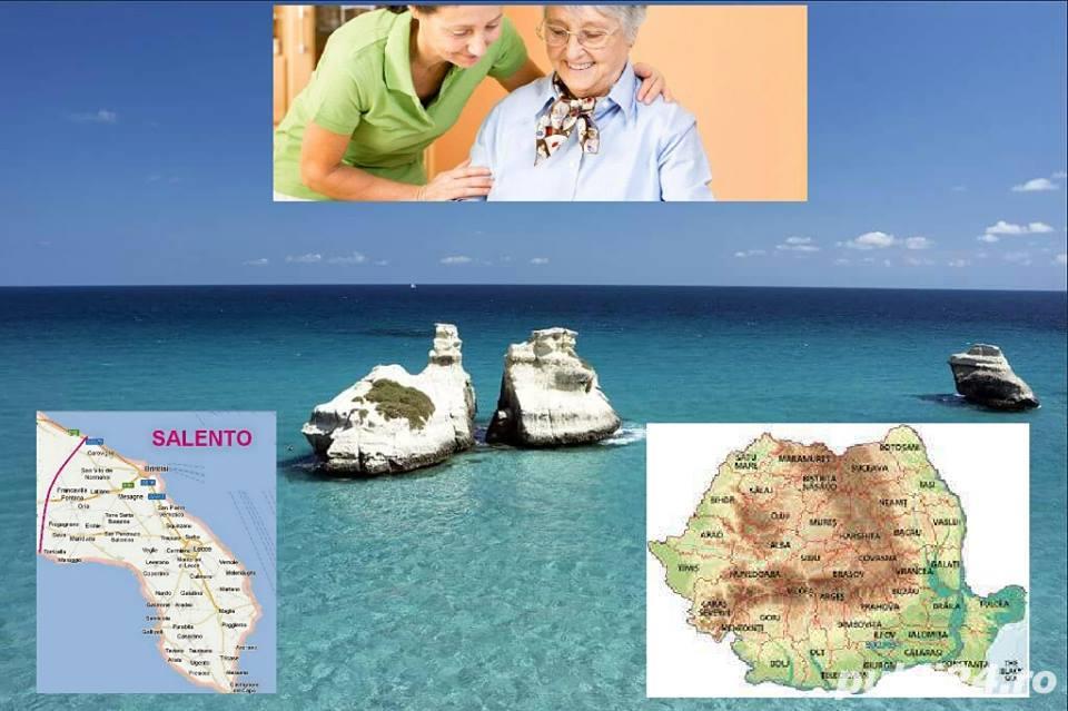 LOCURI DE MUNCA pentru femei ,ingrijire batrani,badante,sud Italia
