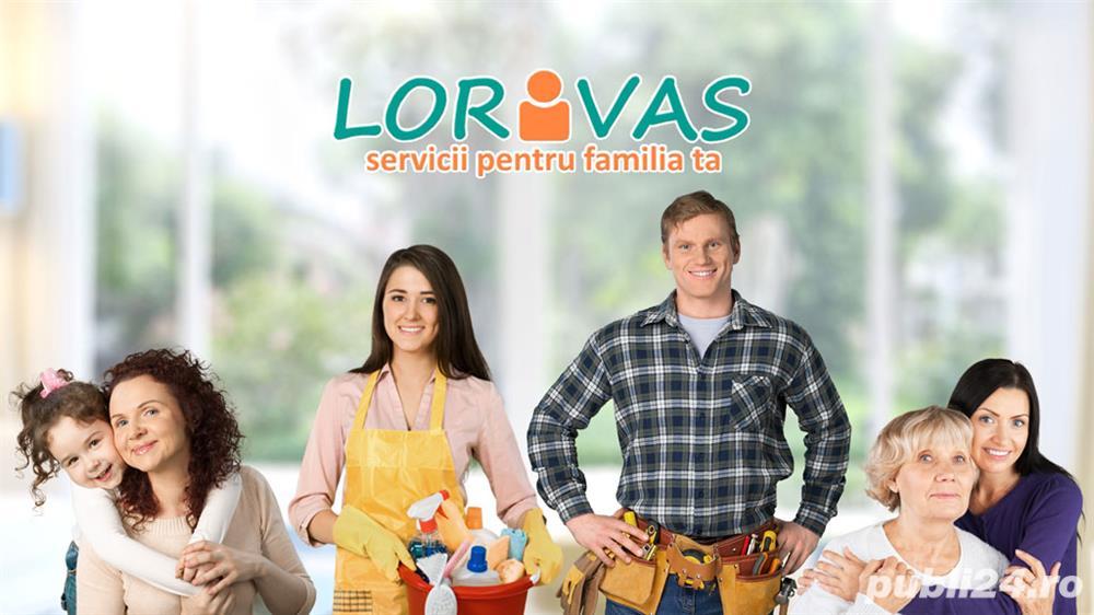 Esti bona, menajera sau poate instalator?Vino pe Lorivas.ro!