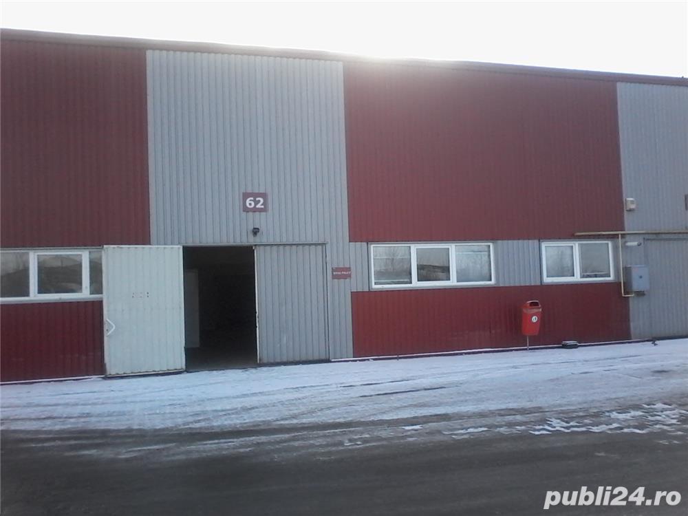 Vând hală cu birouri si cameră frig, Arad, parc industrial uta 1