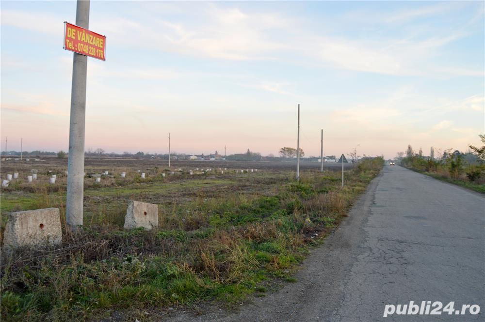Teren cu utilitati in apropiere de autostrada A1