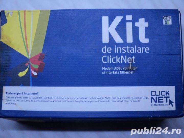 Kit ClickNet Modem ADSL Thomson SpeedTouch ST516 V6 NOU