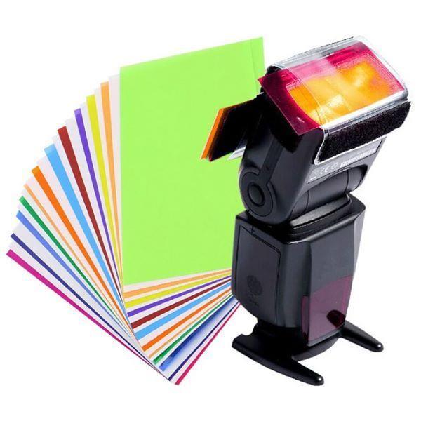 Set 12 filtre colorate pentru blitz