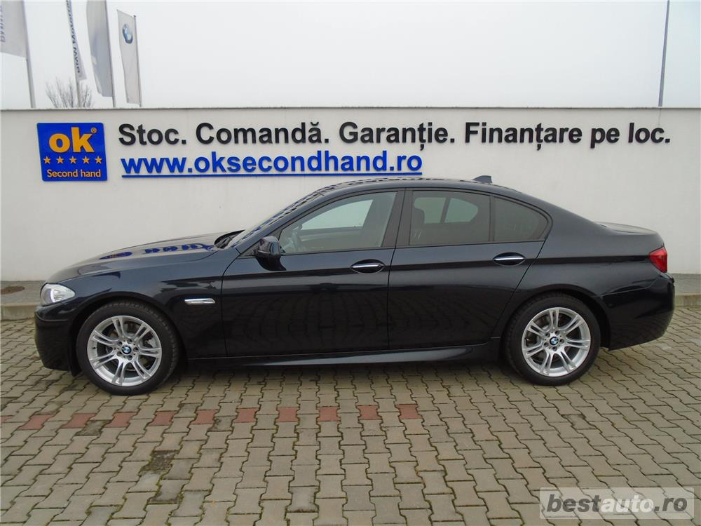 BMW 520d | MPaket | AT8 | 4 usi | 18″ | Xenon | Navi | Senzori parcare | Clima | 2013