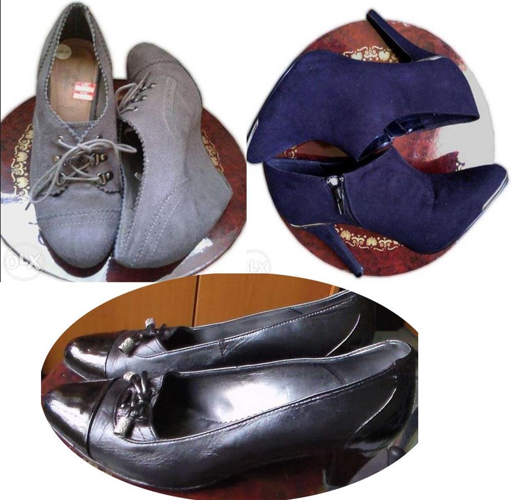Ieftin! Lot Pantofi superbi Piele naturala Italia & New Look UK ,39-41