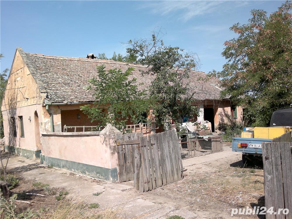 Vand casa in Gad comuna Ghilad, judetul Timis