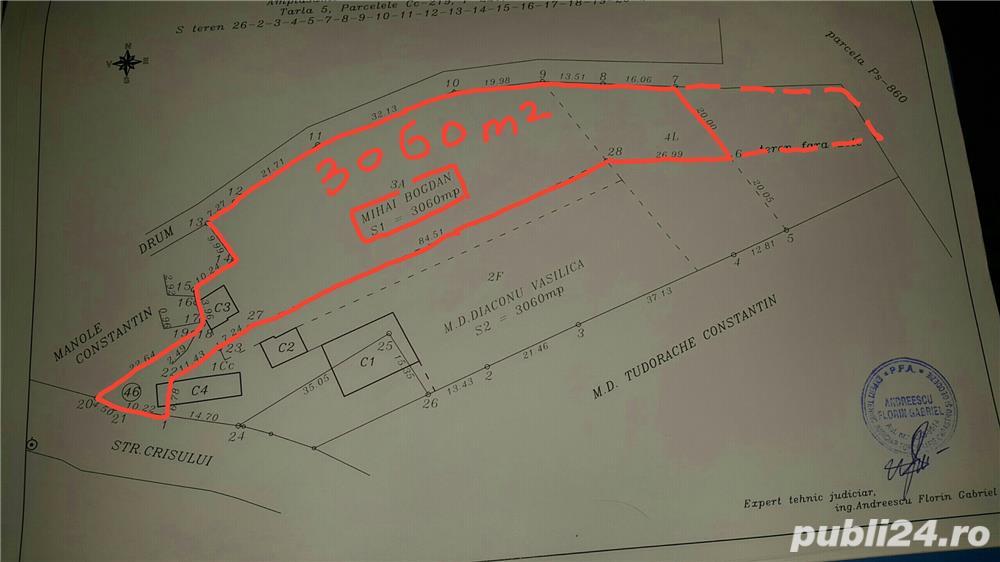 De vanzare teren intravilan 3060mp Baicoi-Prahova