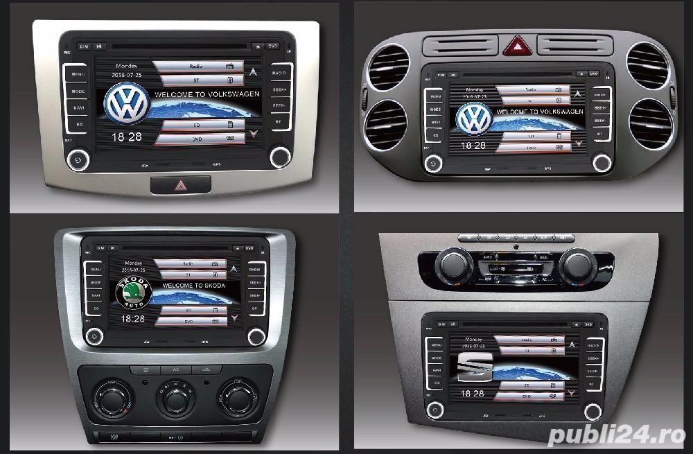 Dvd Gps Navigatie Dedicata VW Passat B6 B7 CC Golf 5 6 Skoda II